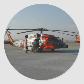 Coast Guard Helicopter Stickers