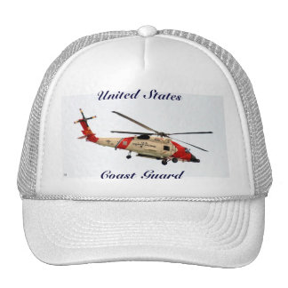 Coast Guard Helicopter, United StatesCoast Guard Trucker Hat