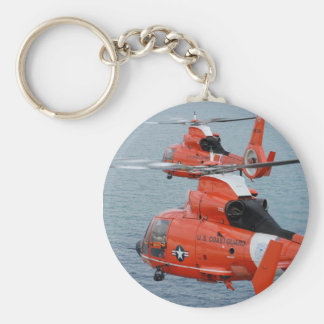 Coast Guard Helicopters Keychain
