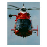 Coast Guard HH-65 Dolphin Helicopter Print