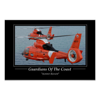 Coast Guard  HH-65 Dolphin Poster