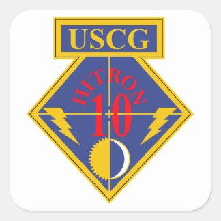 Coast Guard HITRON - 10b Square Sticker
