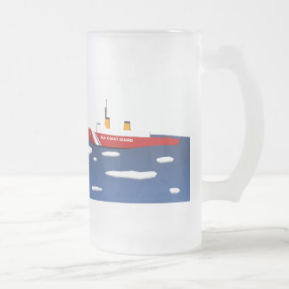 Coast Guard Ice Breaker Frosted Mug