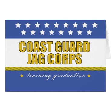 Coast Guard JAG Corps Training Graduation Card