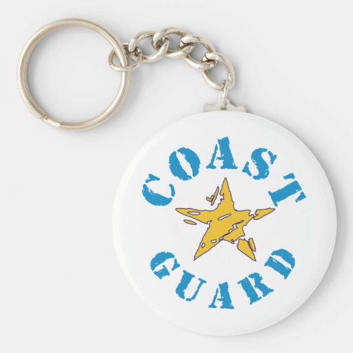 Coast Guard Keychain
