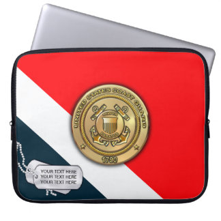 Coast Guard Laptop Sleeve