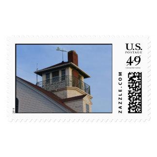 Coast Guard Life Saving Station Postage Stamp