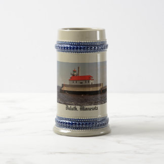 Coast Guard Lighthouse Beer Stein