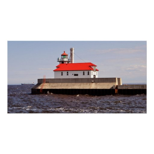 Coast Guard Lighthouse Poster