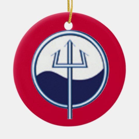 Coast Guard Marine Science Technician Ornament | Zazzle