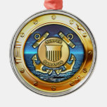 Coast Guard Metal Ornament