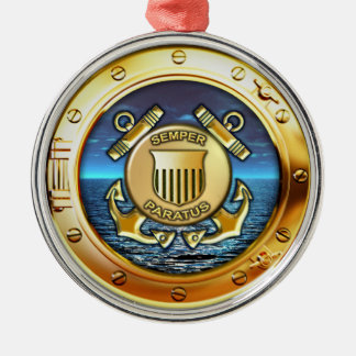 Coast Guard Metal Ornament
