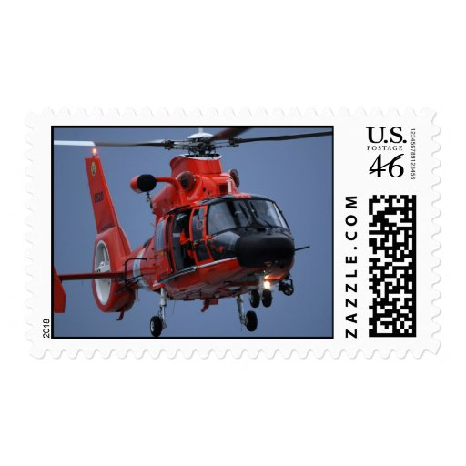 Coast Guard MH-65 Dolphin Postage Stamps