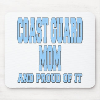 Coast Guard Mom And Proud Of It Mouse Pad