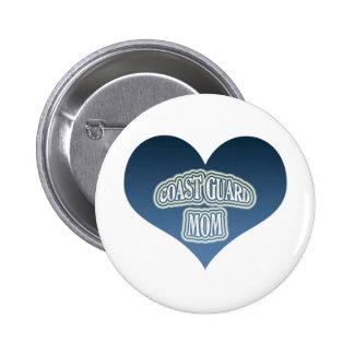 Coast Guard Mom Button