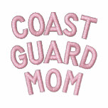 Coast Guard Mom Embroidered Hoody