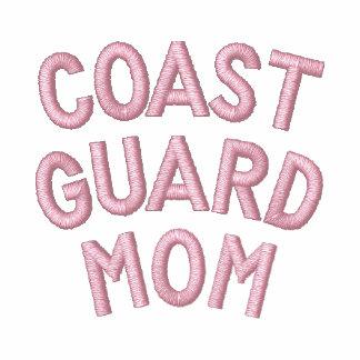 Coast Guard Mom Embroidered Hoody
