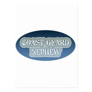 Coast Guard Nephew Postcard