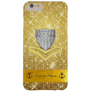Coast Guard PO2 Glitter iPhone 6 Plus Case