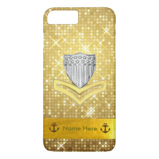 Coast Guard PO2 Glitter iPhone 7 Plus Case