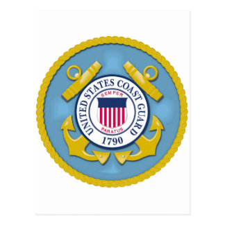 Coast Guard Postcard