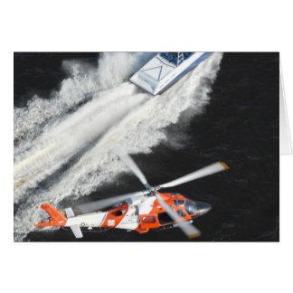 Coast Guard Pursuing Gunboat Card