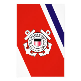 Coast Guard Racing Stripe - Left Stationery
