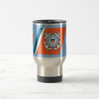 Coast Guard Racing Stripe Mug