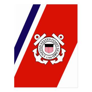 Coast Guard Racing Stripe - Right Postcard