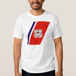 Coast Guard Racing Stripe - Right T-shirts