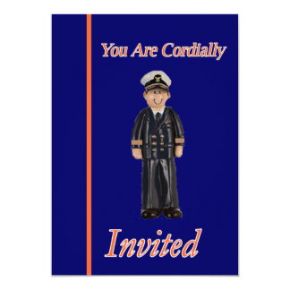 Coast Guard Rear Admiral Retirement Invitation