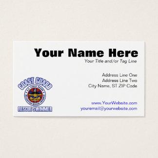 Coast Guard Rescue Swimmer Business Card