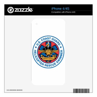 coast guard rescue swimmer decal for the iPhone 4S