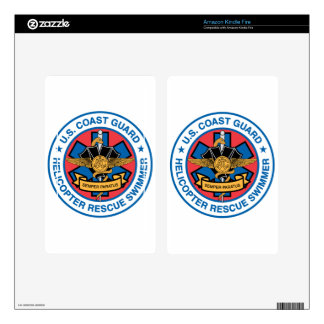 coast guard rescue swimmer decals for kindle fire