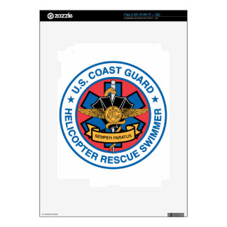 coast guard rescue swimmer decals for the iPad 2