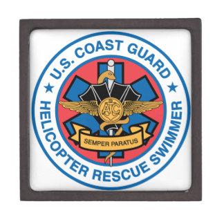 coast guard rescue swimmer jewelry box