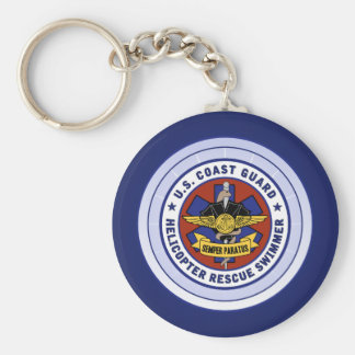 Coast Guard Rescue Swimmer Keychain