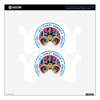 coast guard rescue swimmer PS3 controller decals