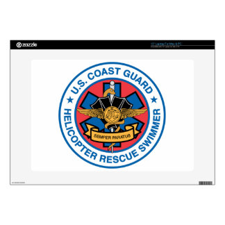 "coast guard rescue swimmer skin for 15"" laptop"