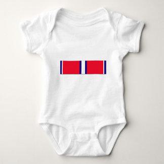 Coast Guard Reserve Good Conduct Ribbon Baby Bodysuit