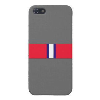 Coast Guard Reserve Good Conduct Ribbon Case For iPhone SE/5/5s