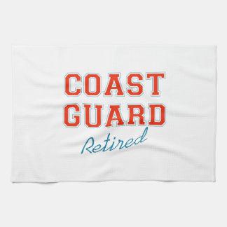 COAST GUARD RETIRED HAND TOWEL