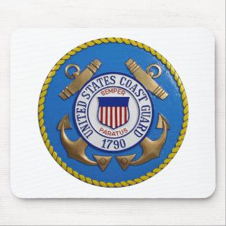 Coast Guard Seal Mouse Pad