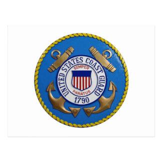 Coast Guard Seal Postcard