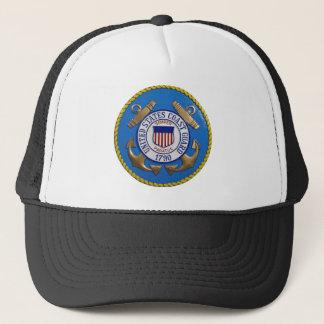 Coast Guard Seal Trucker Hat