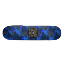 Coast Guard Skateboard Deck