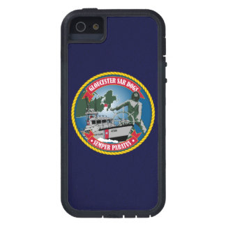"Coast Guard Station Gloucester ""Navy Blue"" iPhone 5 Cover"