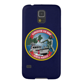 "Coast Guard Station Gloucester ""Navy Blue"" Galaxy S5 Cover"