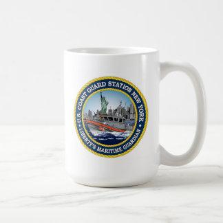 Coast Guard Station New York Coffee Mug