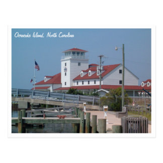 Coast Guard Station Ocracoke Island NC Postcard